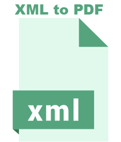 XML File to pdf